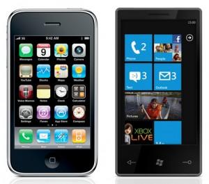 iphone-vs-Windows Mobile